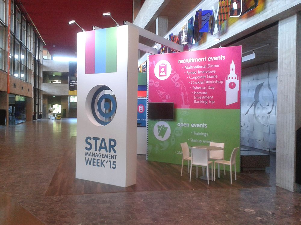 Aluvision Beursstand Star Management week