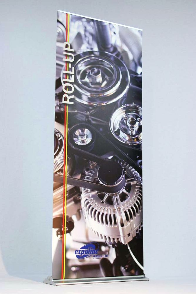 Roll-up banner - beursmateriaal